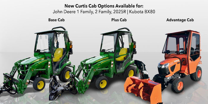 Curtis Cab expanded line up