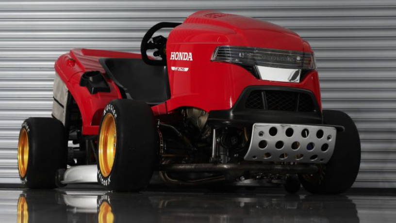 This Honda Lawn Mower Will Go 150 Mph