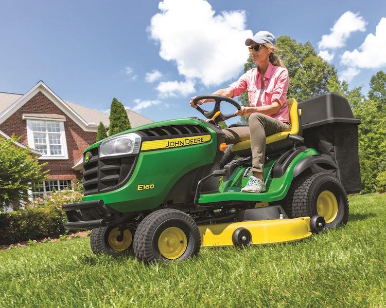 John Deere Releases New Line Of 100 Series Lawn Tractors