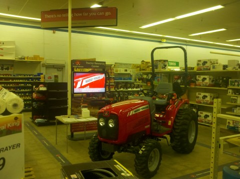 Visiting Rural King's Massey Ferguson Kiosk | Rural