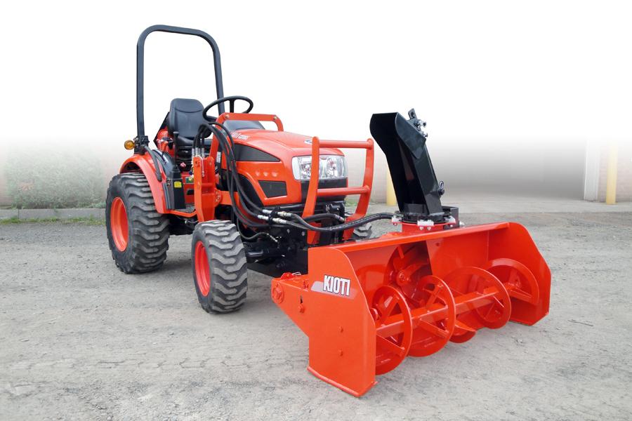 Kioti Tractor Accessories : Kioti tractor launches winter retail programs