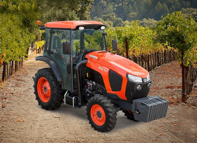 Kubota specialty tractor