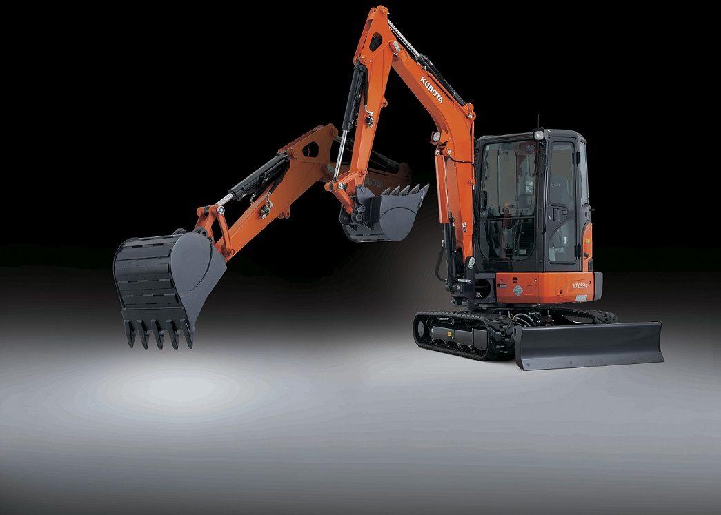 Kubota compact excavator