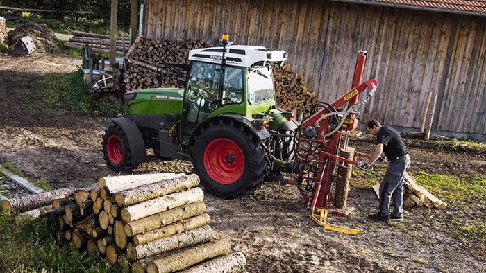 Fendt electric tractor