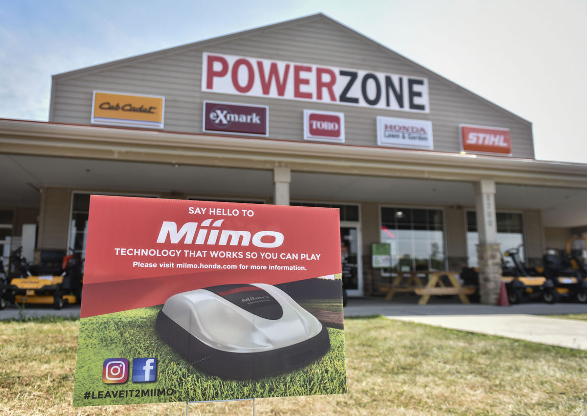 Power Zone Miimo mower
