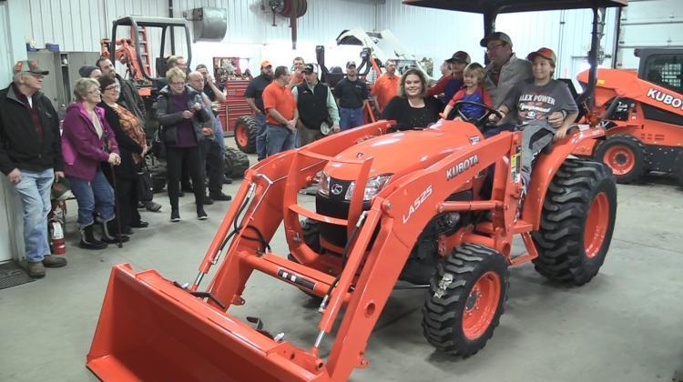 Alex Power Equipment Helps Award Tractor in Kubota's 'Geared
