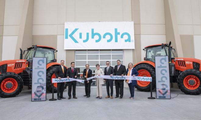 Kubota has Grand Opening for Logistics Campus in Kansas