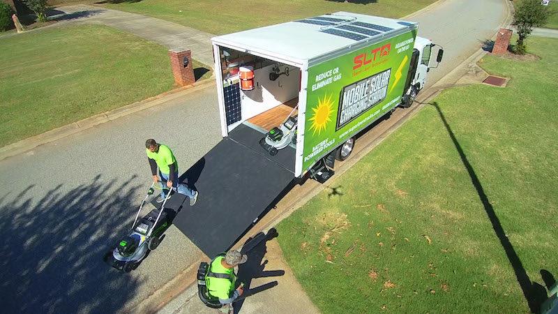 Mobile Solar Charging Station