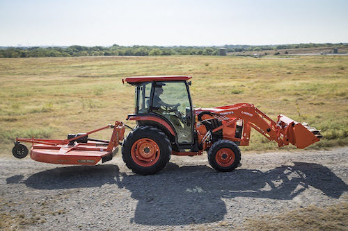 Kubota Introduces the New L3560 Limited Edition Deluxe Cab