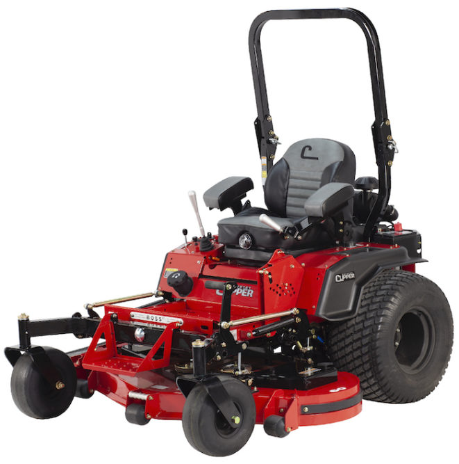New Charger & Boss XL Commercial Zero-Turn Mowers