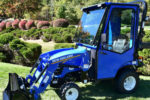 Curtis Industries Cab for New Holland Workmaster 25S sub-compact tractors