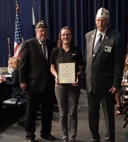 Woods Large Veteran Employer Award