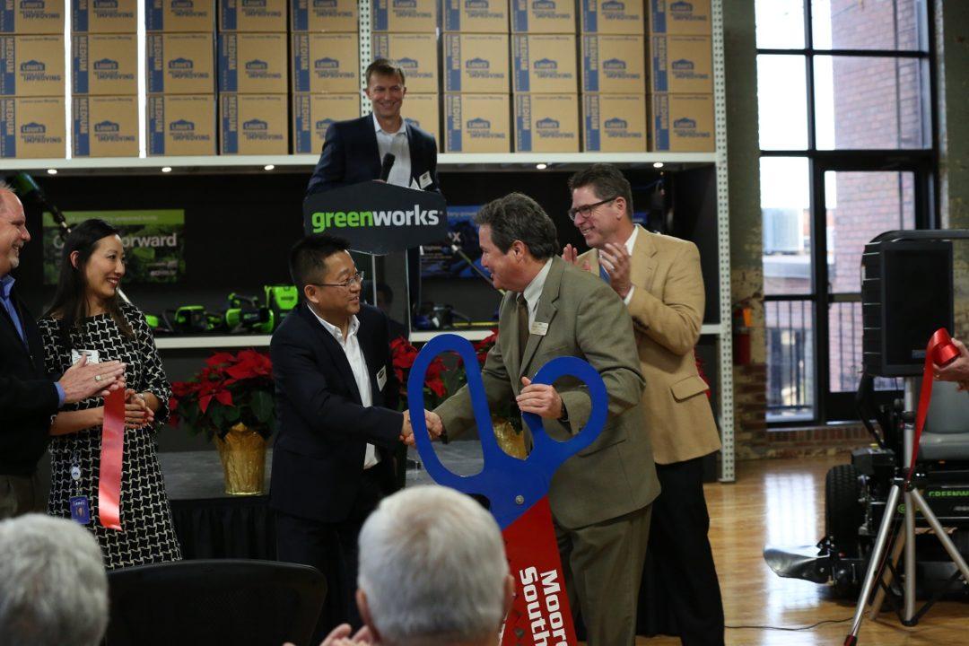 Greenworks grand opening
