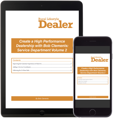 Create a High Performance Dealership with Bob Clements: Parts Department Volume 2