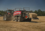 AGCO Corp. Hesston by Massey Ferguson 2370 Ultra High Density (Ultra HD) Large Square Baler_1118 copy