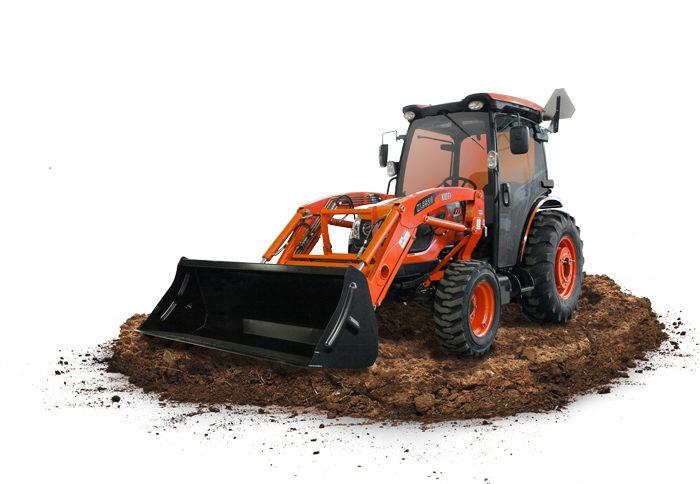 KIOTI DK10SE Series Compact Tractor_0319