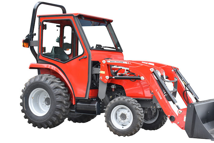 Curtis Industries All-Steel Cab for Massey Ferguson 1700E Series Compact Tractor_0420 copy