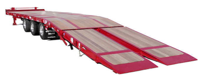 Felling Trailers Inc. Model FT-50-3 LP with Air Bi-Fold Ramps_0320 copy
