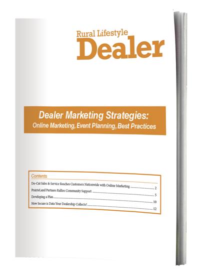 RLD eBook cover - Dealer Marketing Strategies w/ pages