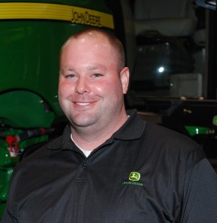 Nicholas Blevins is the integrated solutions manager for Hiawatha Implement, which has locations in Hiawatha and Mound City, Kan.