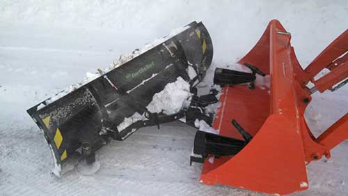 Earth Amp Turf Products Llc Announce Snow Plows For