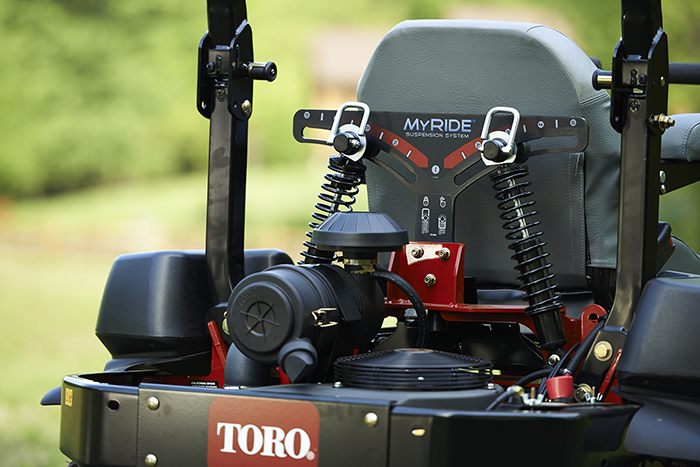 Lawn Tractor Suspension : Toro introduces new myride suspension system on select z