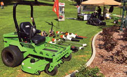 Landscaping Exclusively With Battery Powered Equipment Rural Lifestyle Dealer