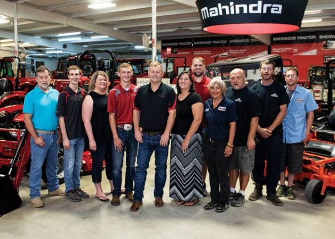 Multi-Store Dealership of the Year: Sherwood Tractor, Rose Bud, Ark.