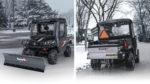 SnowEx UTV Mid-Duty Plow & Stainless Steel Drop Spreader
