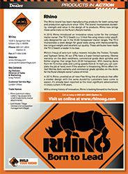 Rhino PIA cover