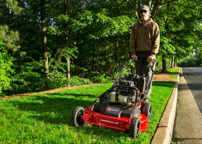 Exmark Commercial 30 Walk Behind Mower Rural Lifestyle