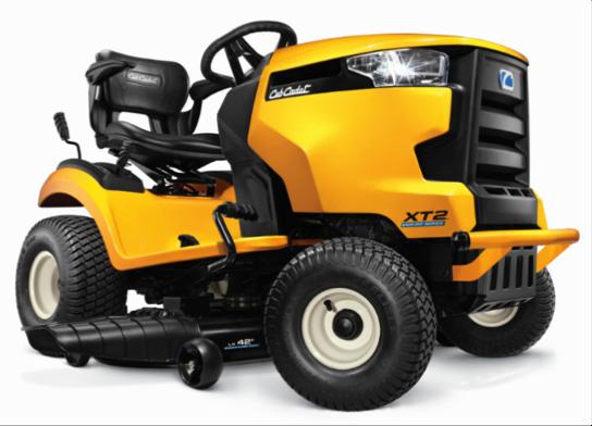 Cub Cadet 2544 Garden Tractor : Cub cadet brings auto engine technology to lawn tractors