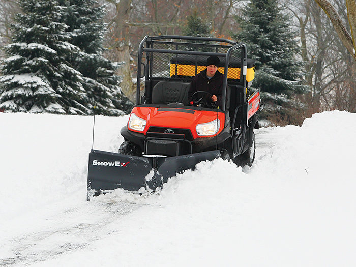 SnowEx V-Plow