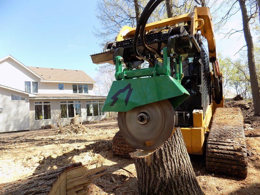 ArborWolf stump grinder