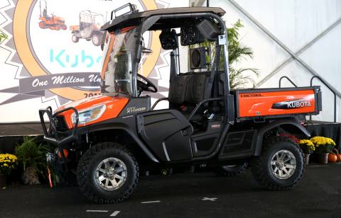 Kubota Commemorative RTV