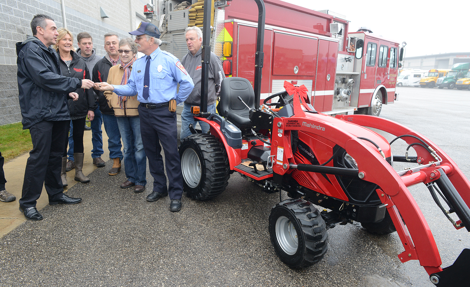 Mahindra Tractor First Responder