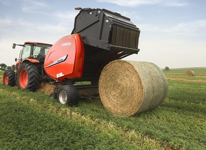 Kubota Expands Hay Tools with High Capacity Baler   Rural