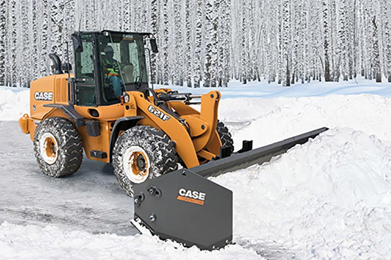 Case CE snow pusher