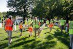 Volunteers at Arlington Cemetery