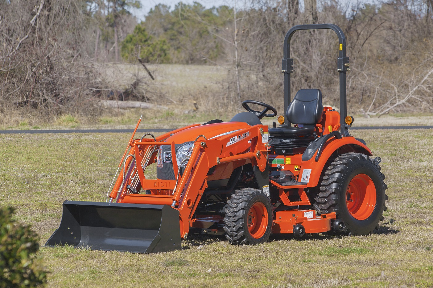 Kioti Introduces Mid Mount Mower For Compact Tractors