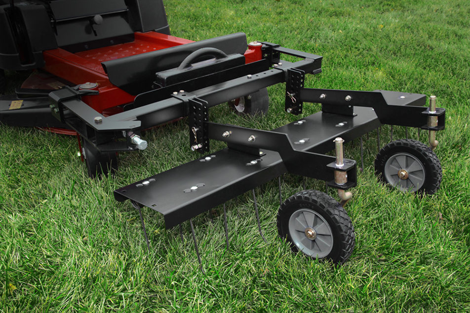 Brinly Hardy Unveils Dethatcher For Zero Turn Mowers