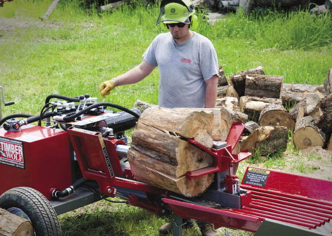 Homemade Log Splitter Quotes