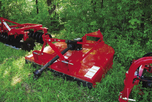 Lefemine utilizes a variety of attachments to address the needs of habitat tasks, which range from planting to fence building to tree clearing.