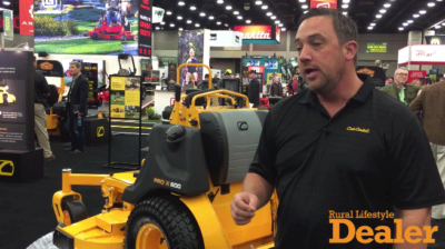 Prototype Developments with Cub Cadet's New Stand-On Mower