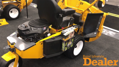 Walker Mower Introduces the RS21 Residential Mower at the 2019 GIE+Expo