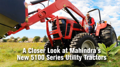 A Closer Look at Mahindra's New 5100 Series Utility Tractors