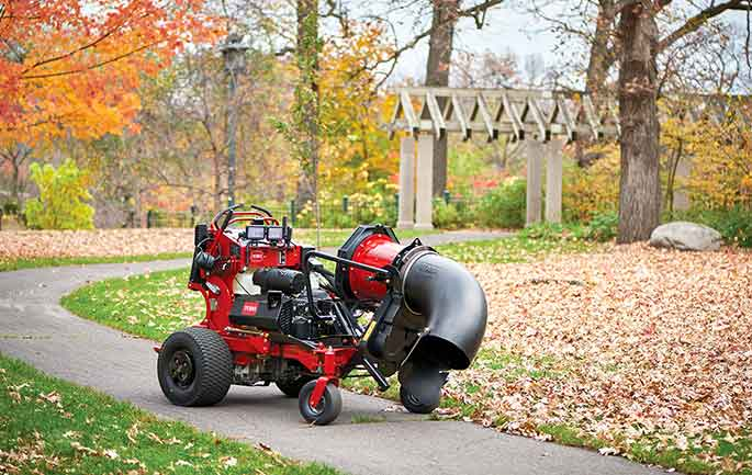 Toro Enhances Grandstand Multi Force Versatility With Blower Attachment Rural Lifestyle Dealer